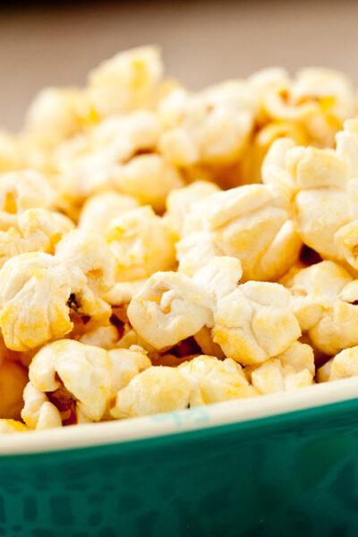 Kettle Corn Popcorn in dish
