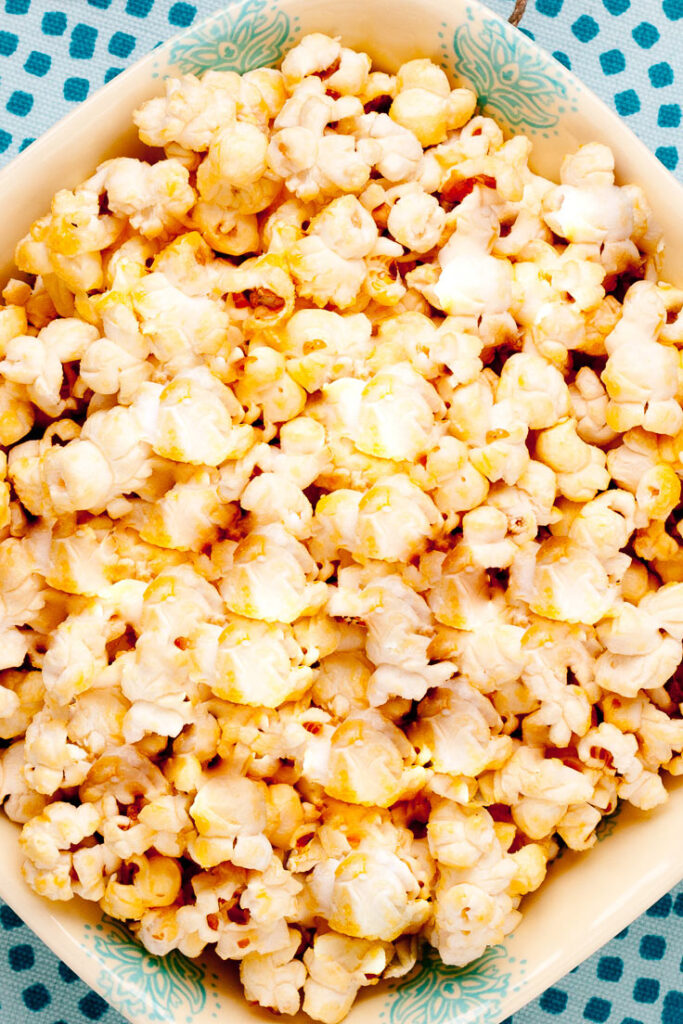 kettle corn popcorn recipe