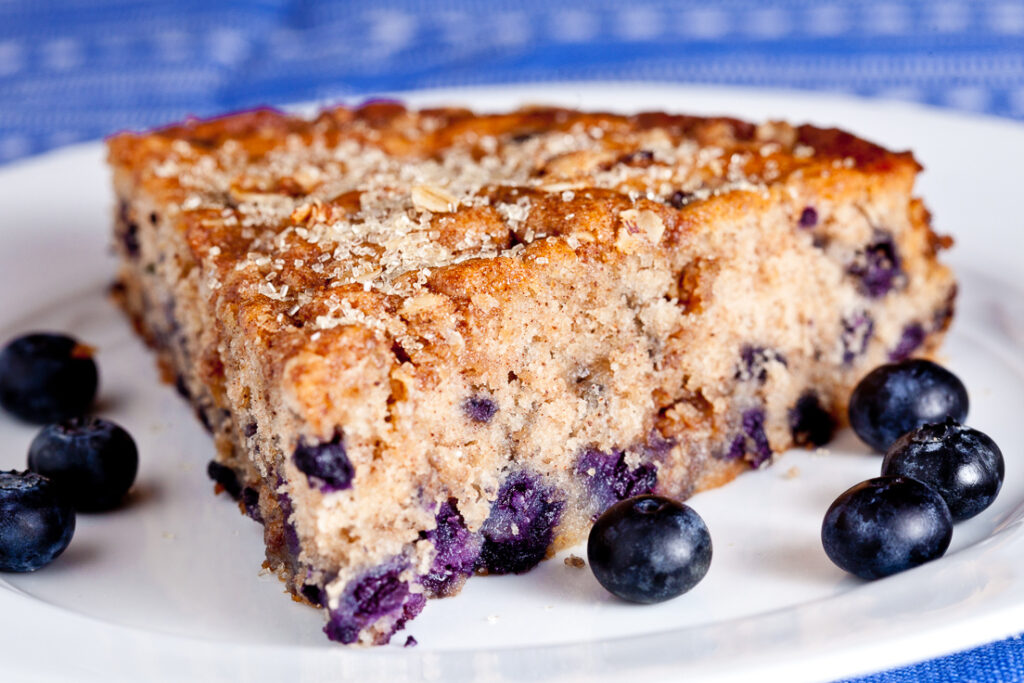 blueberry coffee cake, blueberry cake, fresh blueberry cake, easy blueberry cake