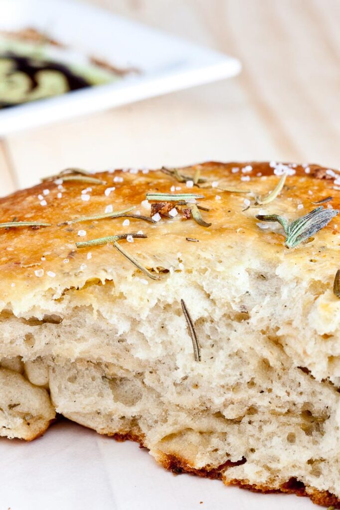rosemary garlic bread recipe, rosemary bread