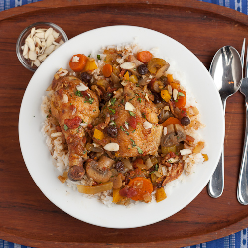 Country Captain Chicken Stew