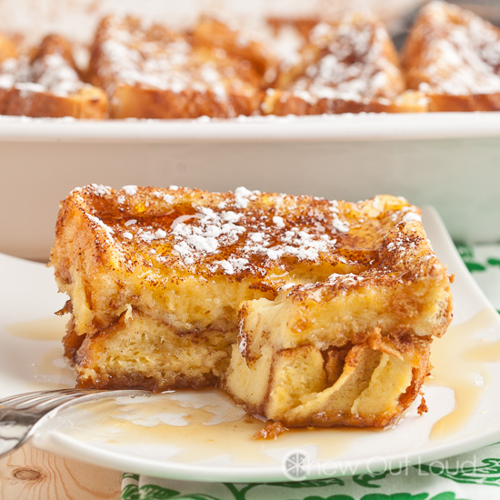 Texas french toast bake chew out loud french toast bake ccuart Images