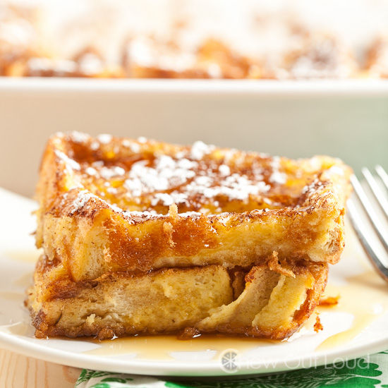 Texas french toast bake chew out loud texas french toast casserole ccuart Images