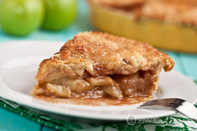 apple pie flaky butter crust