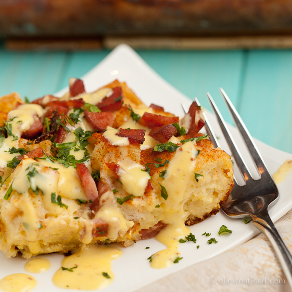 Eggs Benedict Casserole, Brunch Recipes