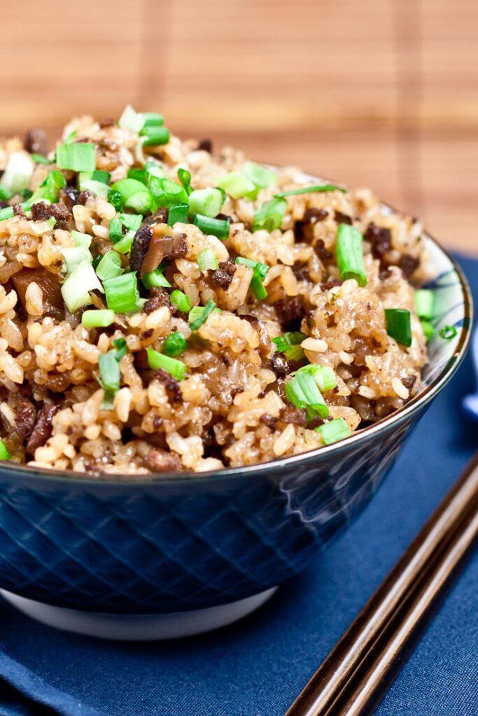 asian sticky rice, sticky rice recipe, how to make sticky rice