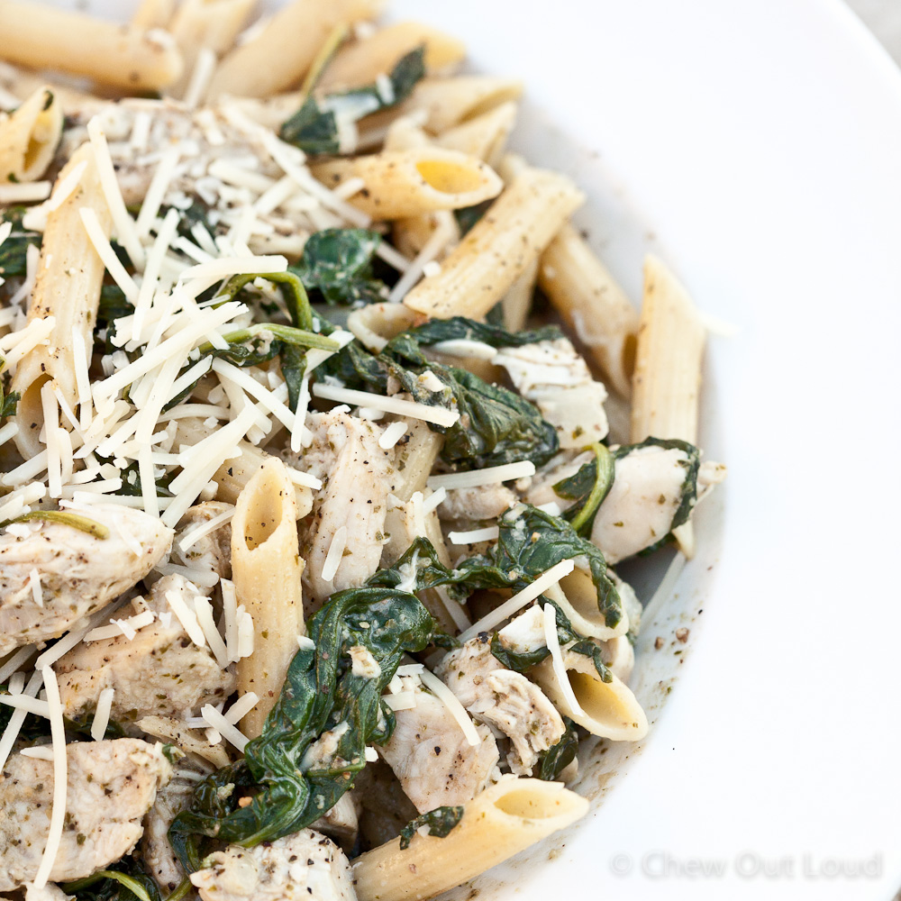 Chicken Florentine Pesto Pasta 4