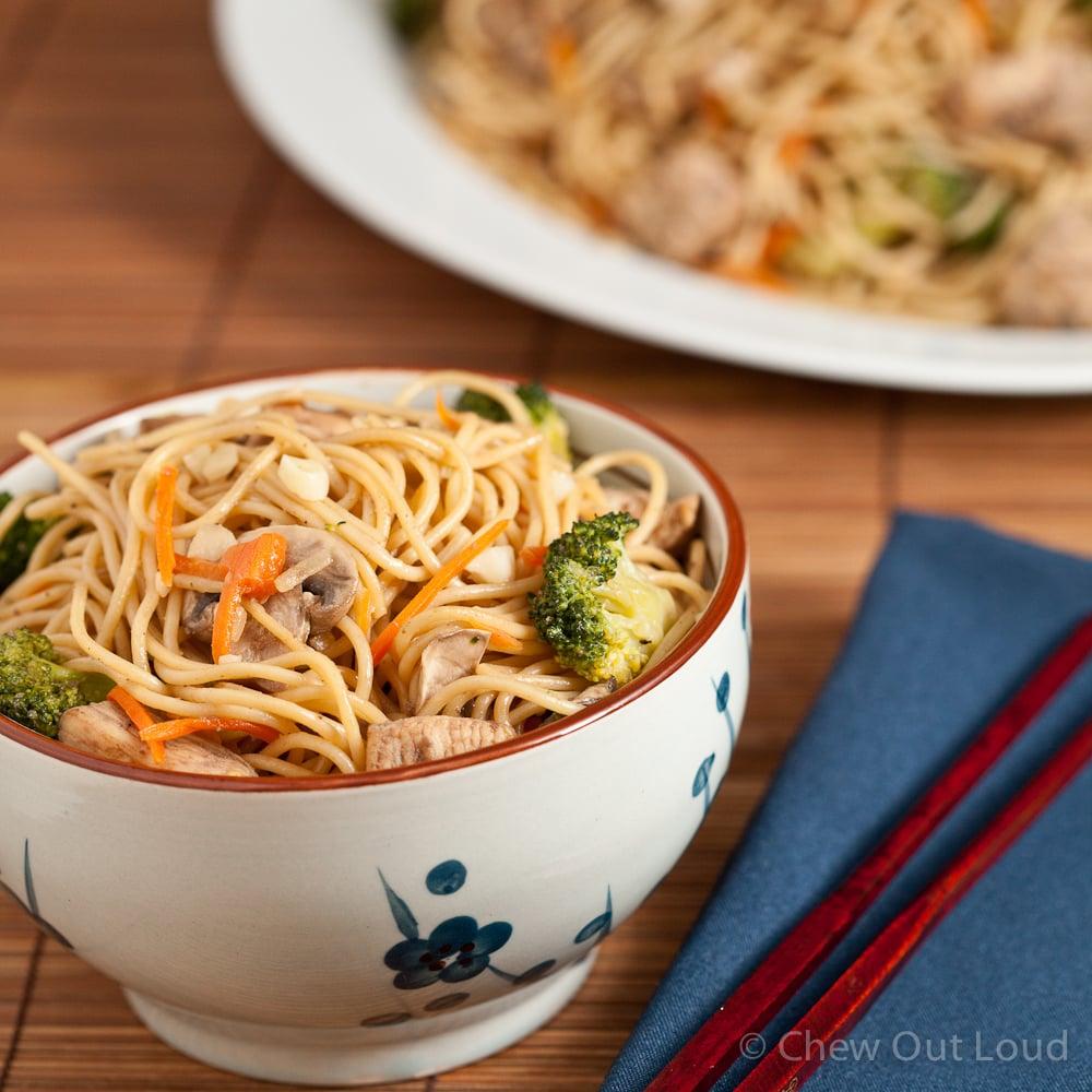 Homestyle Chicken Chow Mein 4