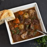 boeuf bourguignon, french beef stew