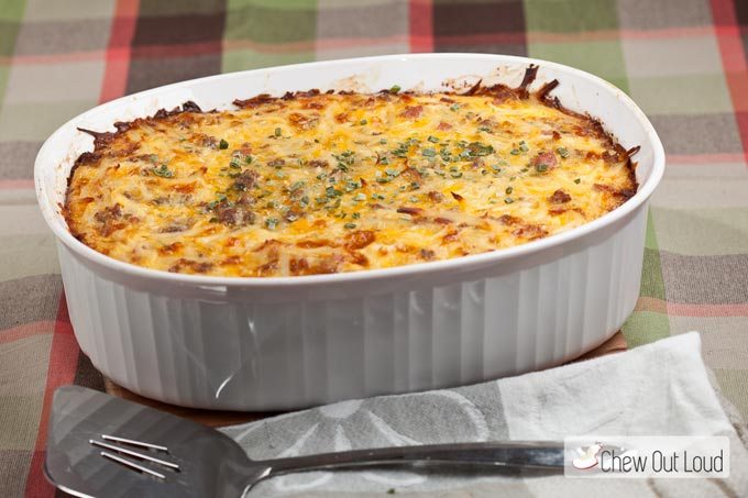 Cheesy Potato and Sausage Bake 2