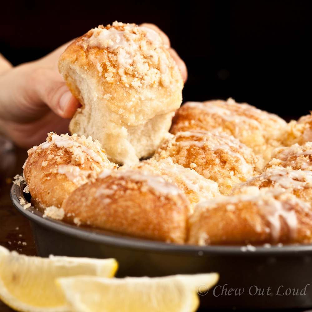 Lemon Monkey Bread 4