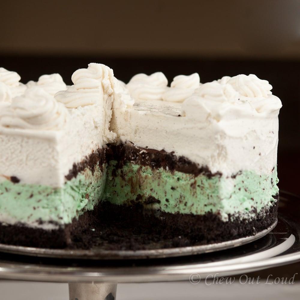 Ice Cream Cake Chocolate Crunch