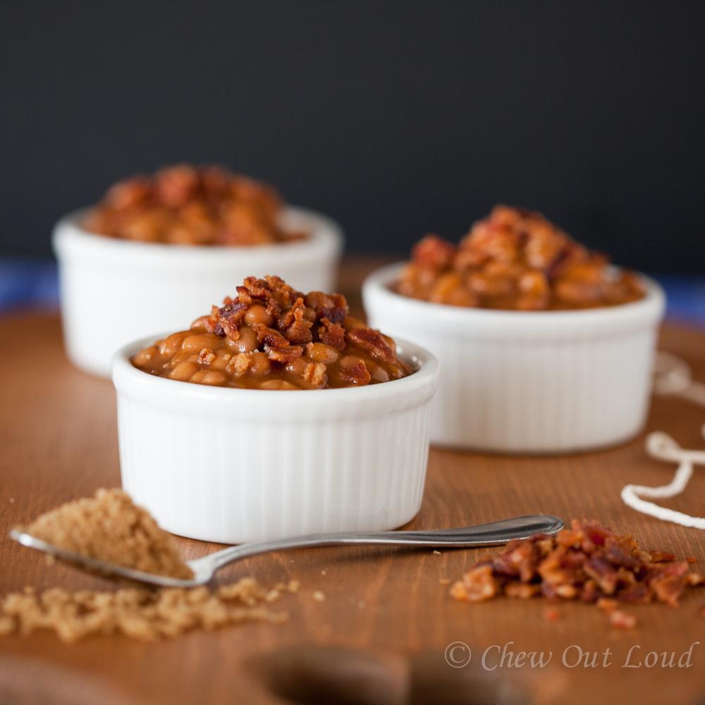 Brown Sugar BBQ Baked Beans