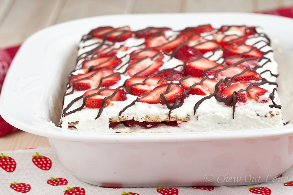 Strawberry Icebox Cake 4