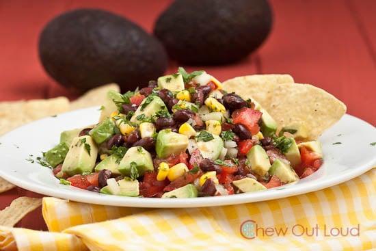 Black-Bean-Avocado-Salad-Dip