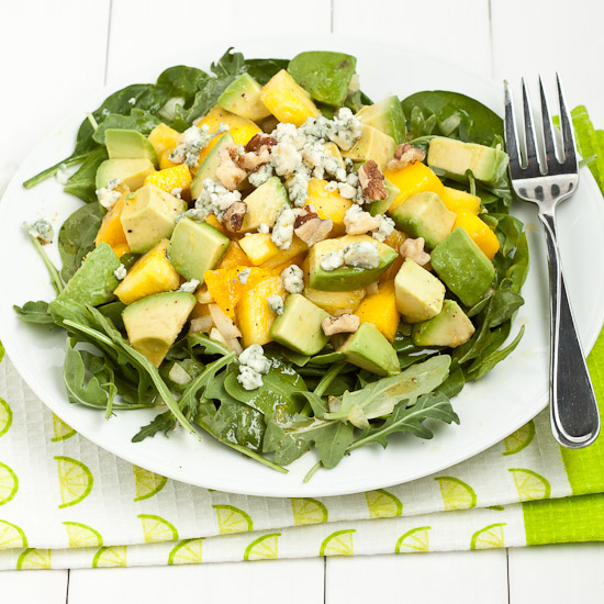 Honey Avocado Mango Salad 6