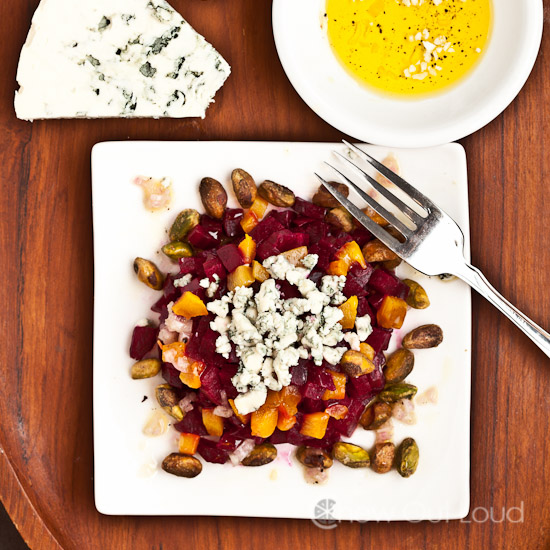 Beet Salad with Blue Cheese 2