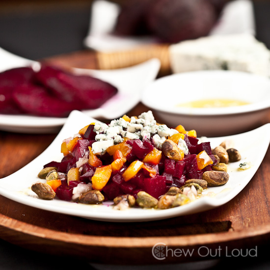 Beet Salad with Blue Cheese