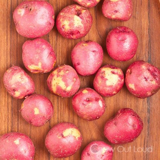 Garlic Butter Herb Red Potatoes