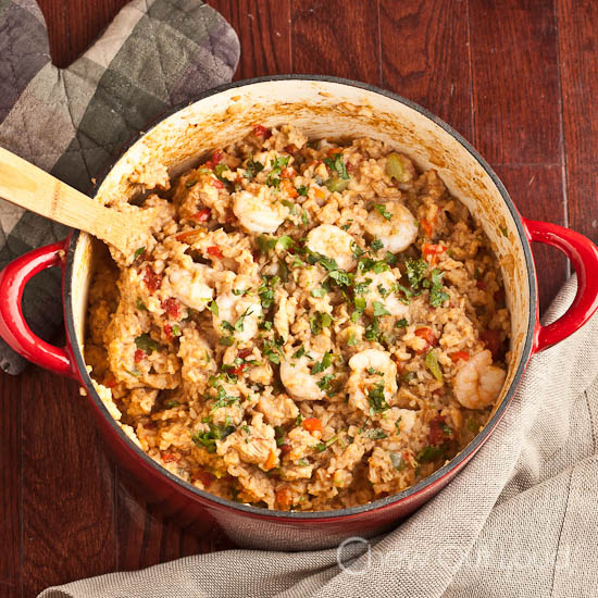 Mexican rice with chicken and shrimp chew out loud mexican rice with chicken and shrimp 2 forumfinder Gallery