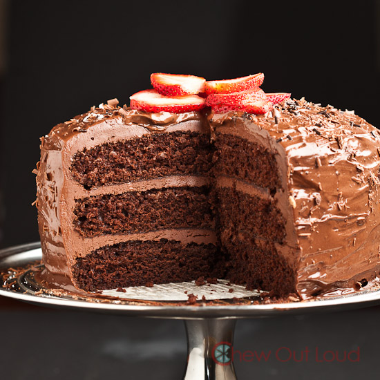 One Bowl Chocolate Layer Cake