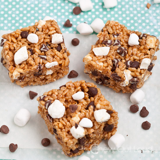 Smores Peanut Butter Krispies