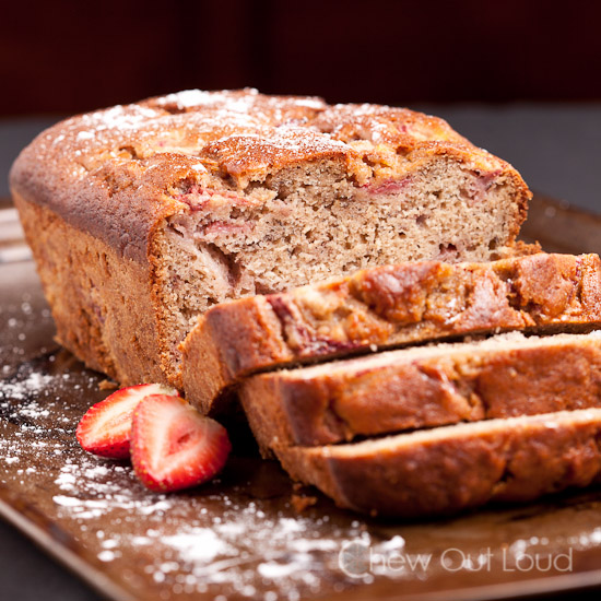 Strawberry Banana Bread 2