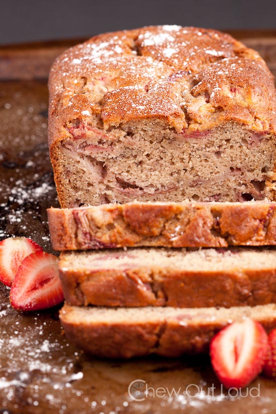 Strawberry Banana Bread 4