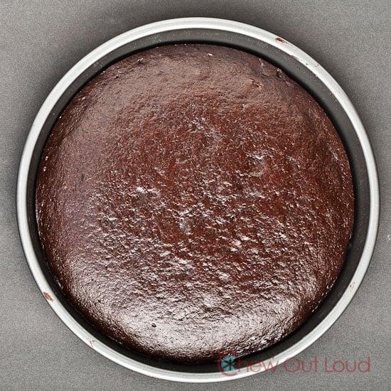 one bowl chocolate layer cake 2