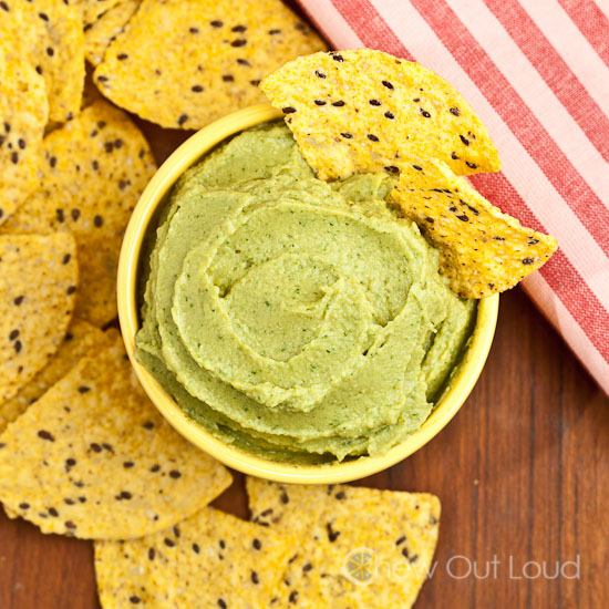 Avocado Hummus 2