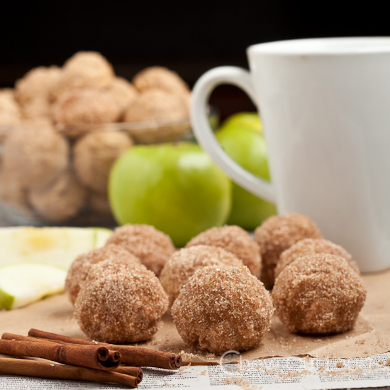 Baked Apple Spice Donuts