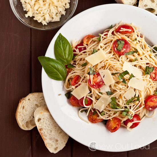 Bruschetta Tomato Basil Pasta 2