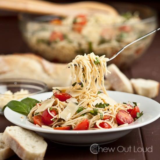 Bruschetta Tomato Basil Pasta 3