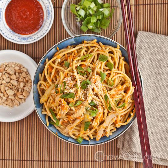 Peanut Sesame Noodles 3