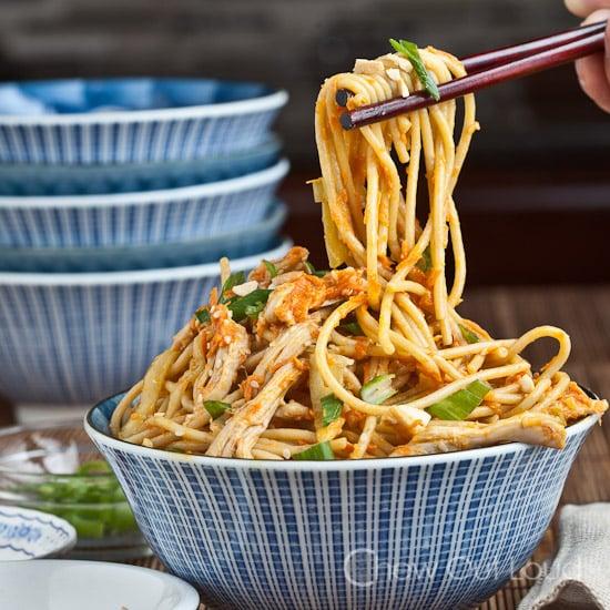 Peanut Sesame Noodles 4