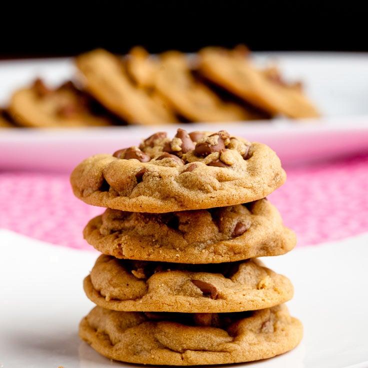 peanut butter chocolate chip cookies gluten free