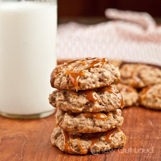 soft apple oatmeal cookies 3