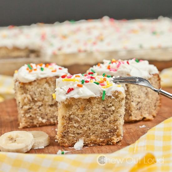 Banana whip cream cake recipe