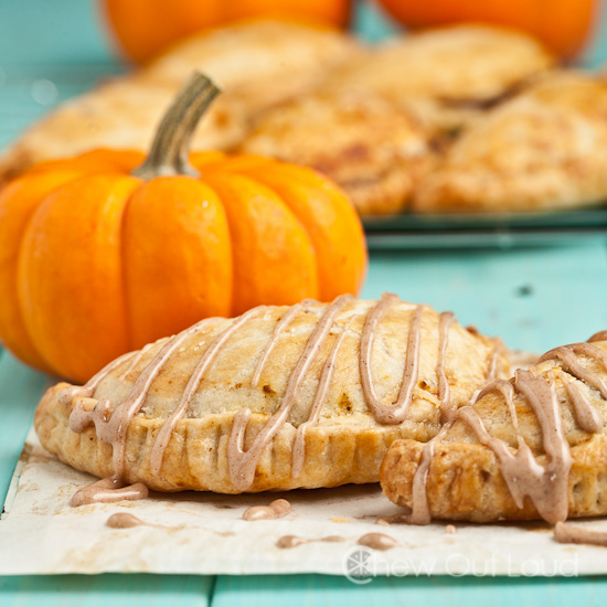 Pumpkin Pasties Hand Pies'