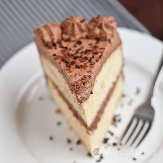 Tender Chocolate Cake with Chocolate Whipped Cream 2