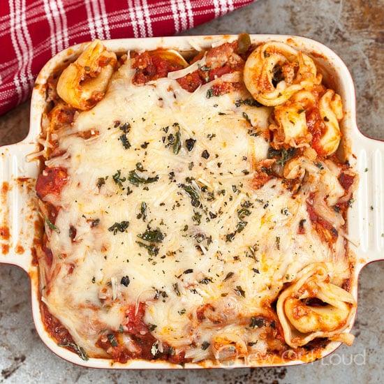 Cheesy Baked Tortellini Casserole 2