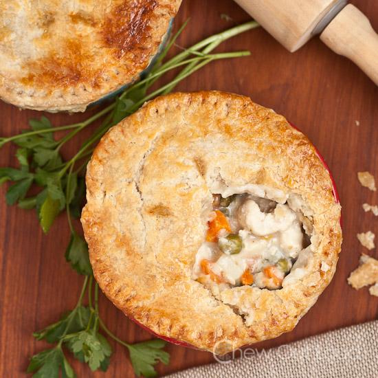 Chicken or Turkey Pot Pie 3