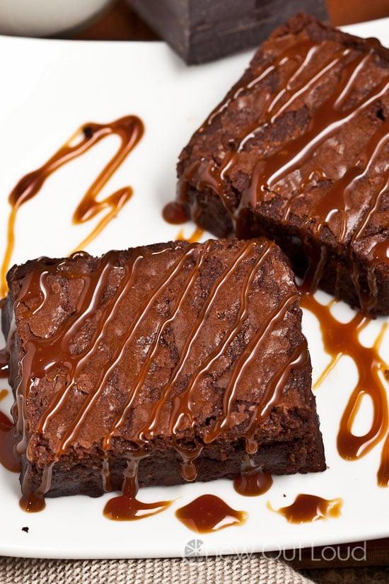 recipe: gooey chocolate fudge brownie recipe [30]