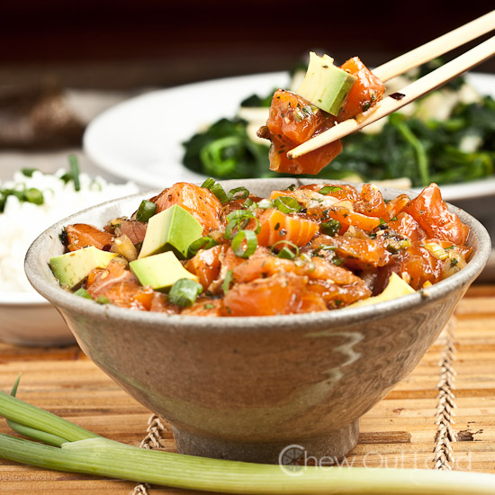 Hawaiian Salmon Poke 3