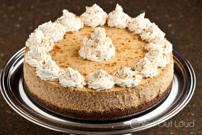 NY Style Pumpkin Cheesecake