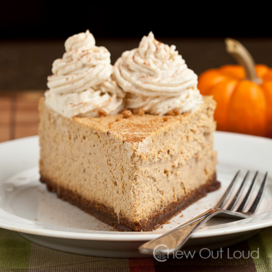 New York Style Pumpkin Cheesecake 1