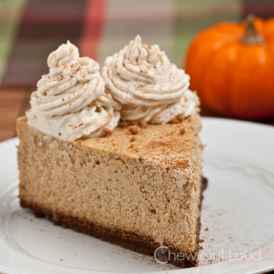 New York Style Pumpkin Cheesecake 2