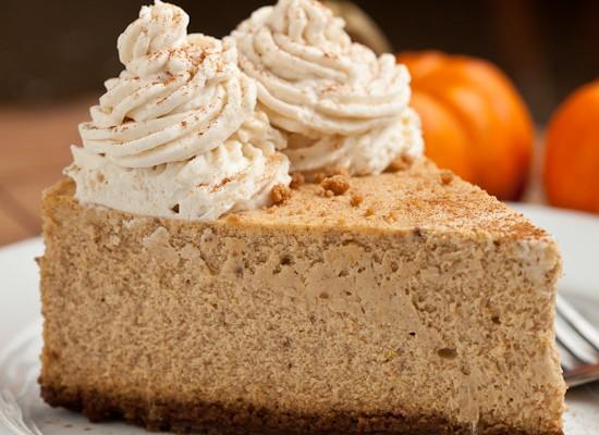 New York Style Pumpkin Cheesecake