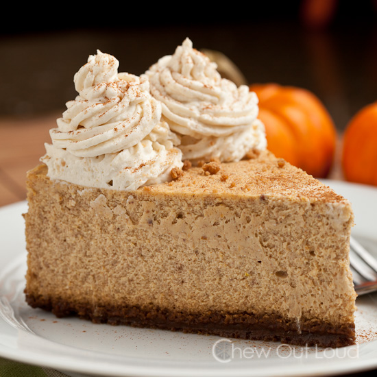 New York Style Pumpkin Cheesecake 3