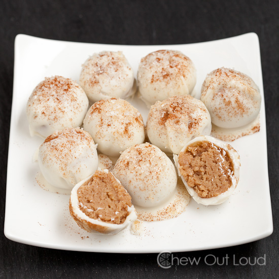 Snickerdoodle Oreo Cookie Balls Chew Out Loud